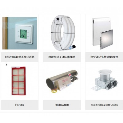 Ventilation by Components